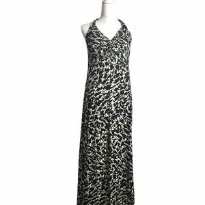 Dana Bachman halter maxi dress. Medium